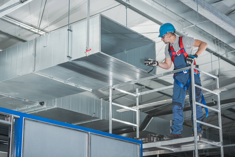 Commercial Heating, Cooling and Air Ventilation Systems