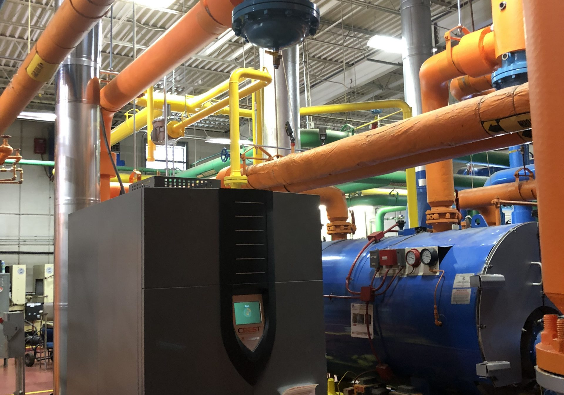 HVAC and Plumbing system